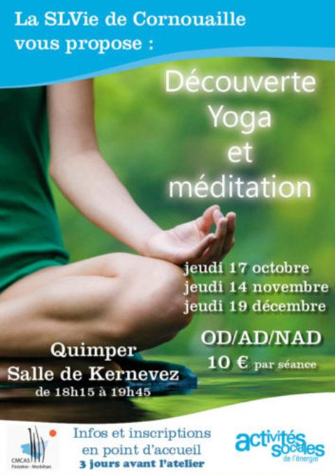 Découverte Yoga et Méditation