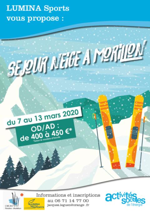 Séjour neige à Morillon