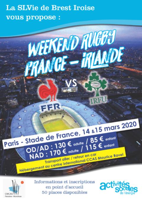 Rugby : France / Irlande au Stade de France !